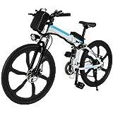ancheer vtt lectrique pliable e bike v lo lectrique 250w mountain bike grande capacit pedelec. Black Bedroom Furniture Sets. Home Design Ideas