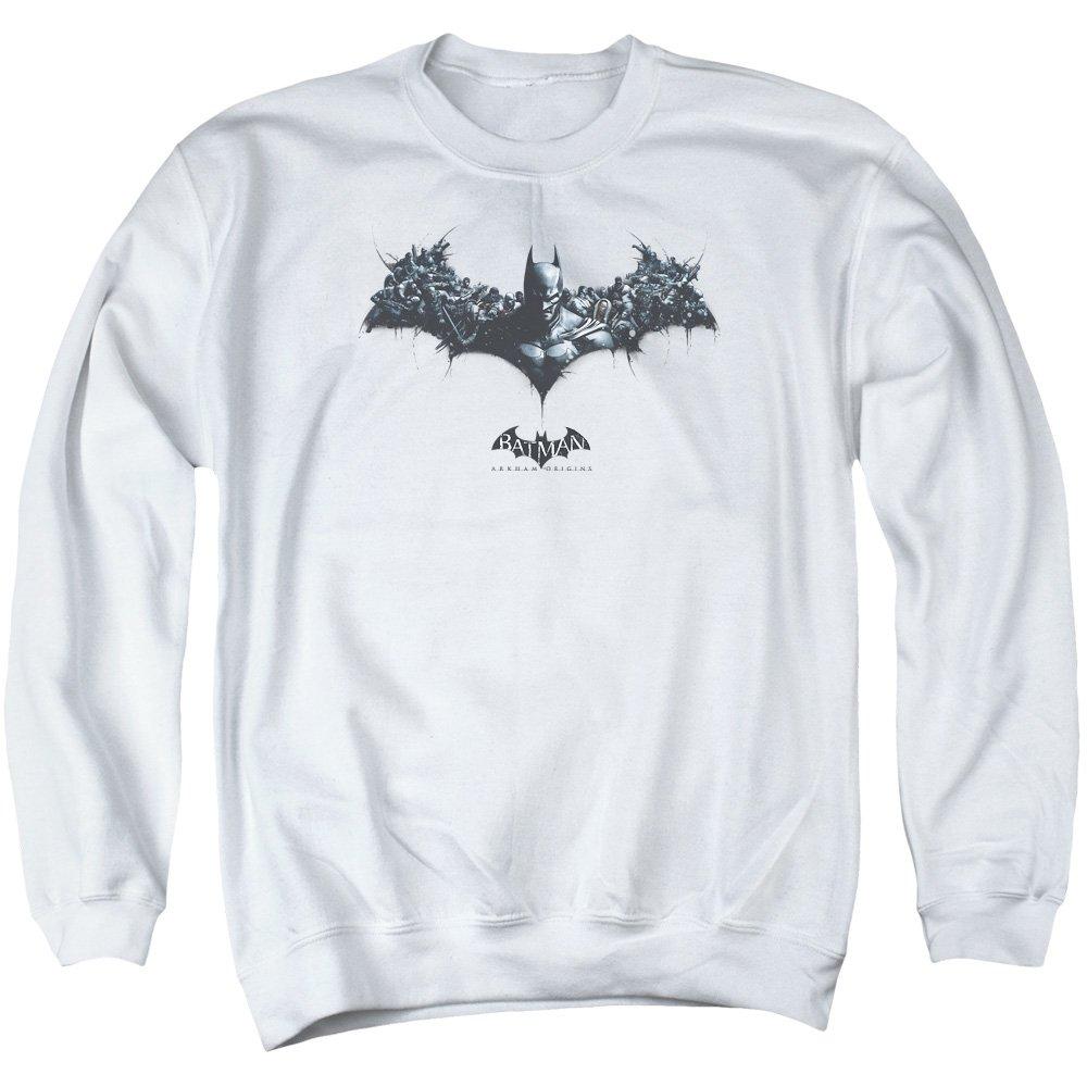 MMM Merchandising Batman Arkham Origins Mens Bat of Enemies Sweater