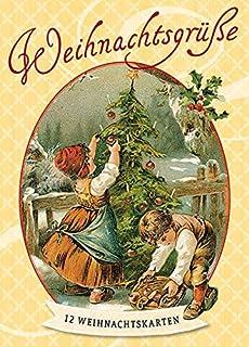 Weihnachtsgrüße Deutsch.Wunderschöne Weihnachtsgrüße 12 Nostalgische Weihnachtskarten