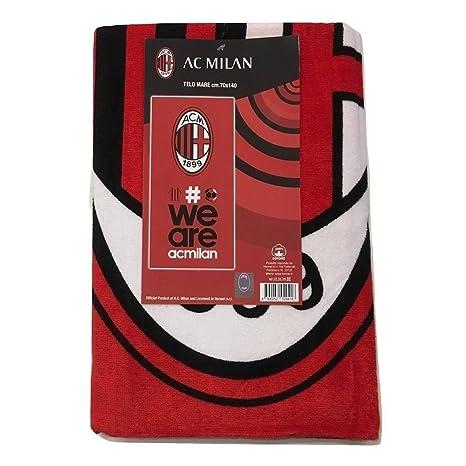 Milan Juventus 8934 272 2110 - Toalla de Playa, 100% algodón, Rojo/