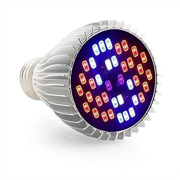 M-zmds Bombilla LED para Cultivo | 30 W | Espectro Completo | Luz de
