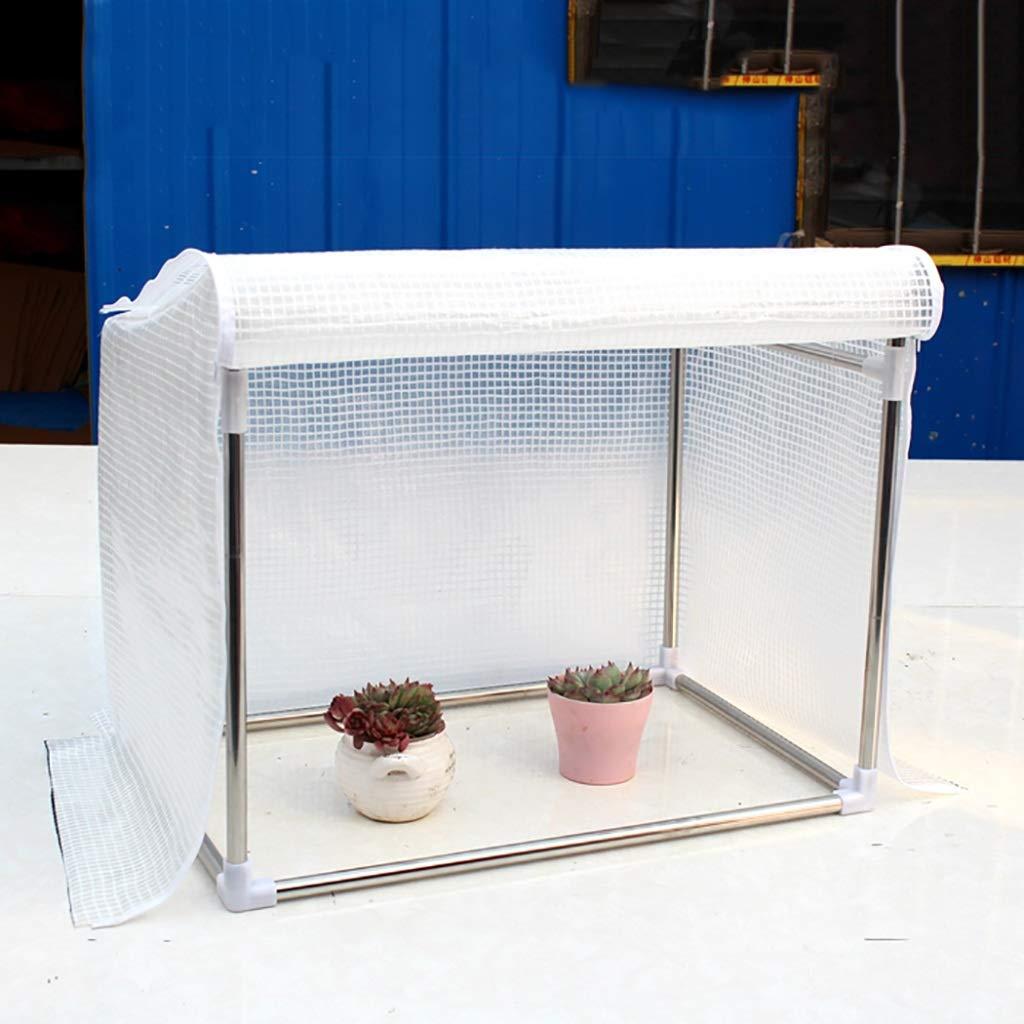 ZCCWS Copertura in PE Rinforzata per Controllo della Temperatura (Serra) (Dimensioni   60  50  50cm)