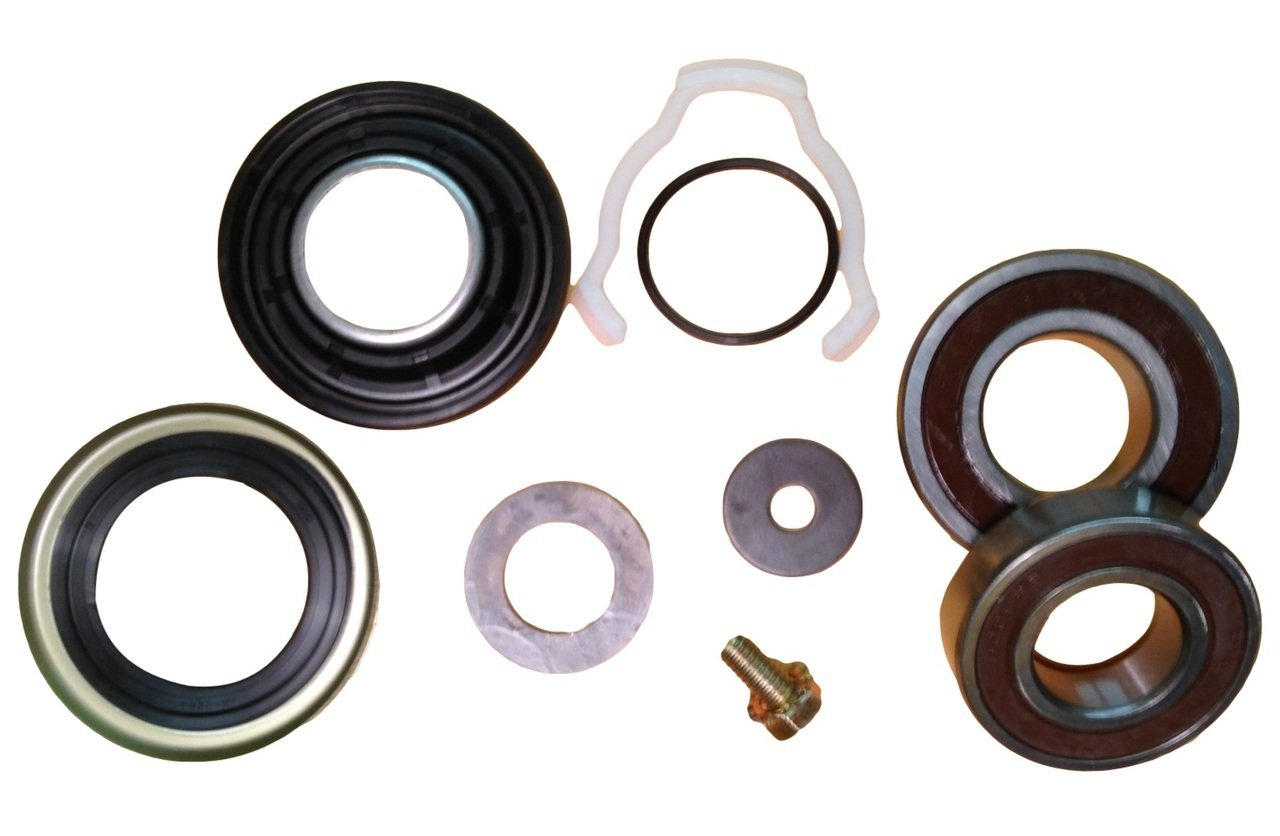 Big Bearing WK-01 Maytag Neptune Washer Front Loader (2) Bearing, Seal and Washer Kit, Used Primarily on Front Load Washers, Metal/Rubber