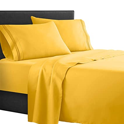 Amazon Com Clara Clark Supreme 1500 Collection 4pc Bed Sheet Set