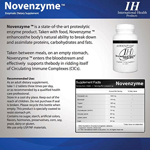Novenzyme ™ 500 Tablets by Unknown (Image #1)