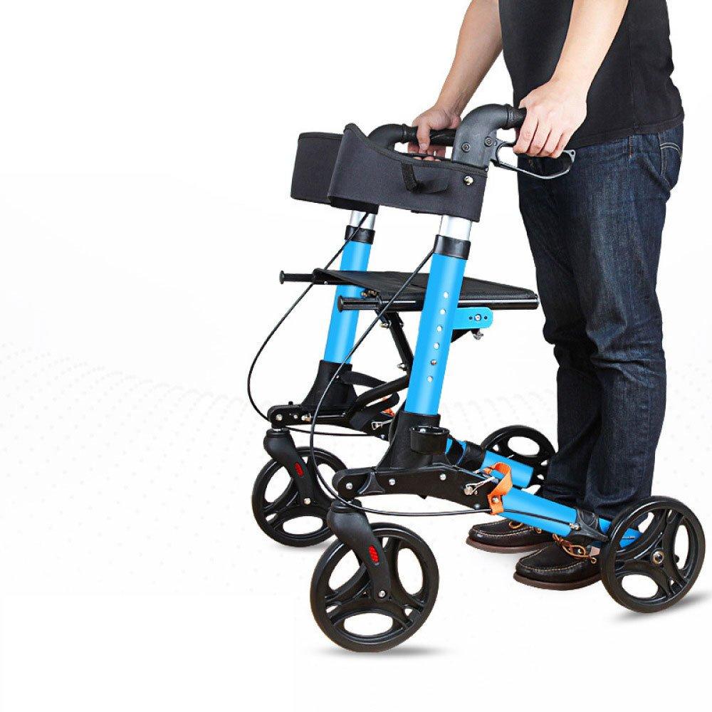 Andador Para Ancianos De 4 Ruedas | Aluminio Ultraligero ...
