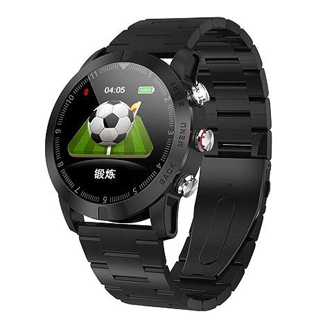 ZJHNZS Reloj Inteligente Business Smart Watch Hombres Monitor de ...
