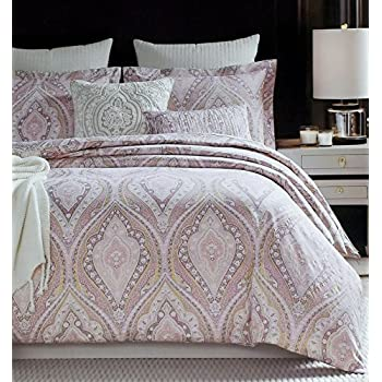 Greatest Amazon.com: Rose Gold Bedding Glamour Damask Paisley Print Luxury  BI95