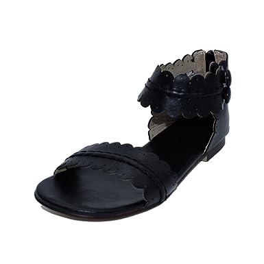 1df2d9a0e3 Amazon.com  Summer New Dropship Fashion Flower Edges Sandals Women Shoes   Clothing