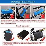 VISET Ebike Battery Pack 36V 48V 10Ah 14Ah 20Ah
