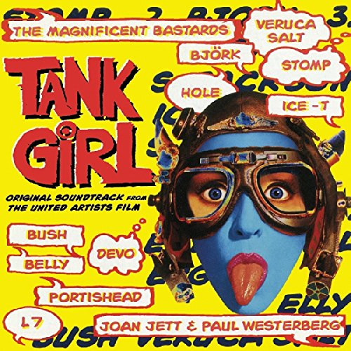 Tank Girl: Original Soundtrack from the United Artists Film (Limited Aqua Blue Vinyl Edition)