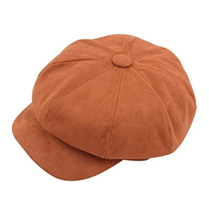 b6c2d602 Amazon.com: Hemlock Berets Hats, Women Girl Vintage Octagonal Hat ...