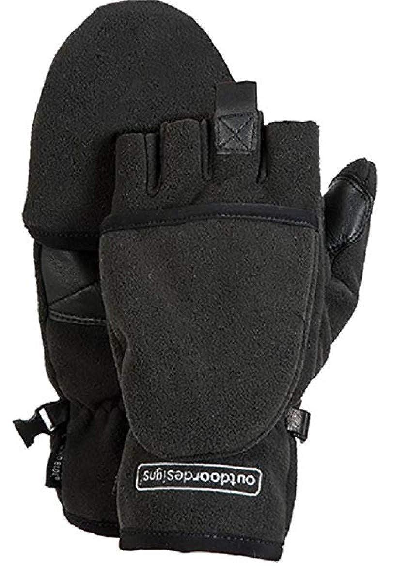 Black Outdoor Designs Kona Grip Convertible Gloves
