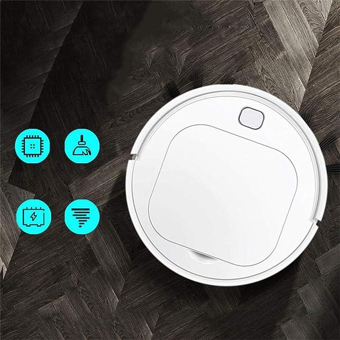 Fhxc Robot Aspirador, 3 En 1 Anti-caída Inteligente Robot ...