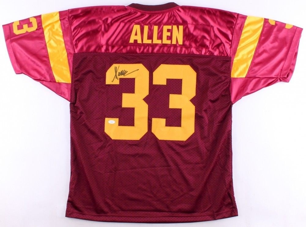 bcde15e8460 Marcus Allen Autographed Signed Usc Trojans Jersey Memorabilia - JSA  Authentic at Amazon's Sports Collectibles Store