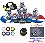 Speed Stacks Combo Set 'The Works'': 12 DIGITAL CAMO 4'' Cups, Atomic Punch Gen 3 Mat, G4 Pro Timer, Cup Keeper, Stem, Gear Bag + Active Energy Necklace