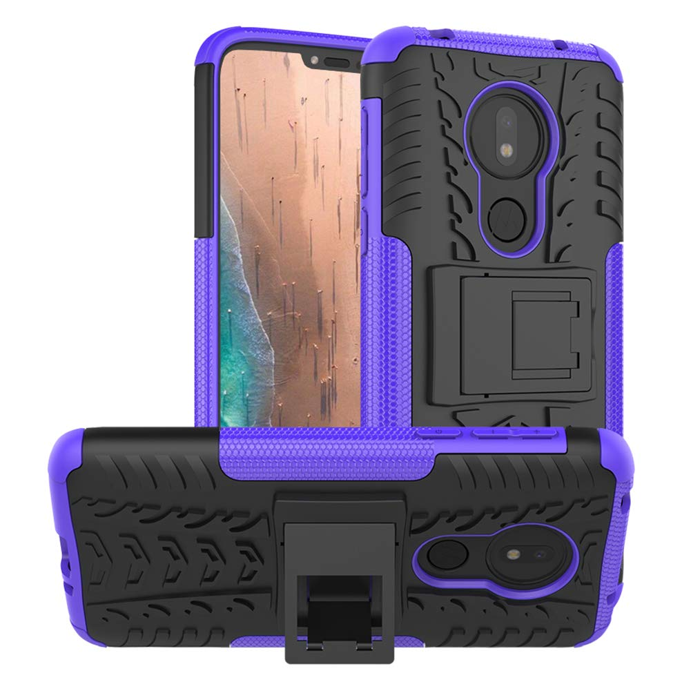 Funda Para Moto G7 Power Con Pie Pushimei (7p8x6bjs)