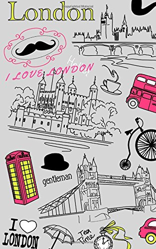I Love London: Password Journal, Internet Password Organizer, Password Keeper, Internet Address & Password Log Book, Password Book, Password Notebook (Volume 16) pdf