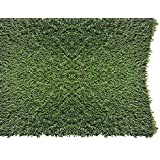 PZG 1-inch Artificial Grass Patch w/Drainage Holes & Rubber Backing   4-Tone Realistic Synthetic Grass Mat   Heavy…
