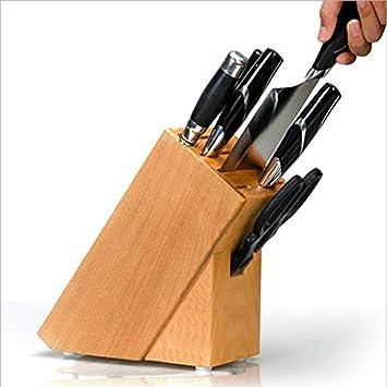 Soporte para cuchillos de madera maciza para cinturón de ...