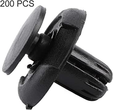 20pcs Car Retainer Fasteners Rivet Trim Clips Black for Honda 91501-S04-003