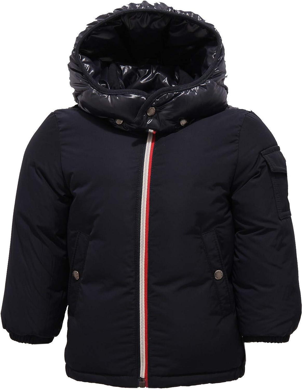 MONCLER 9842Z Piumino Bimbo Boy JONQUIERES Blue Jacket [6/9 Months]