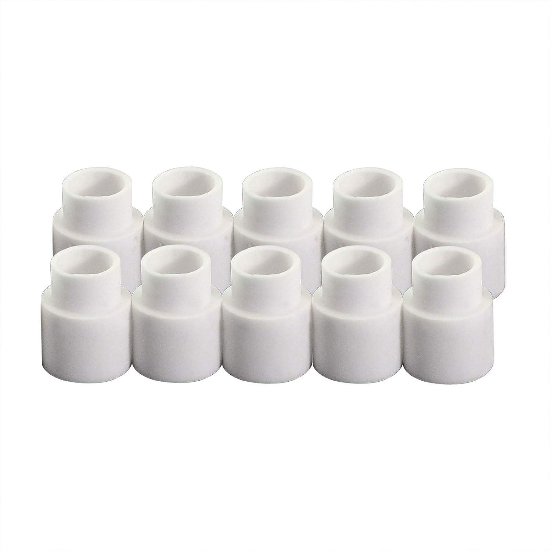 C1510 Keramikring fü r Cebora HP041 CP50 CP70 Trafimet CB50 CB70 HY40 PE0007, 10pk RIVERWELDstore