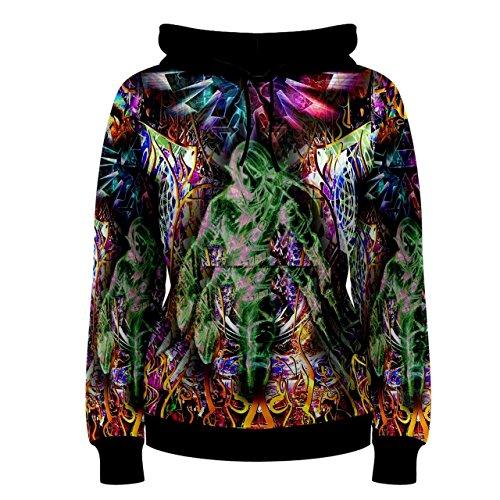 f521562c Legend Of Zelda Triforce Trippy Psychedelic Hippie Custom Full 3D Print  Women Hoodie Sweaters