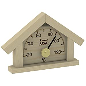 Sauna thermometer - pine -cottage- (Pinetta)