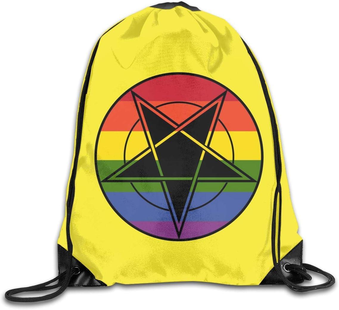 BK Creativity Mochila con Cuerdas,Bandera del Orgullo Gay ...