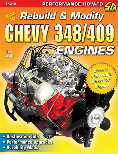 How to Rebuild & Modify Chevy 348/409 Engines (NONE)