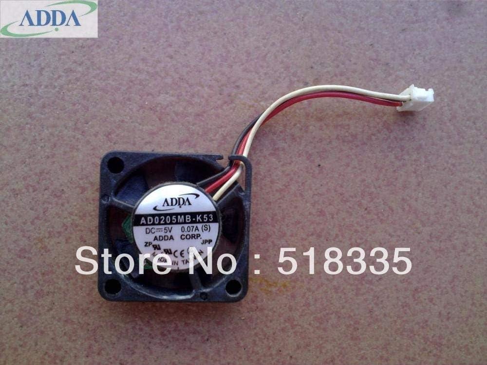 07A mini cooling fan FOR ADDA AD0205MB-K53 2507 2CM 5V DC 0