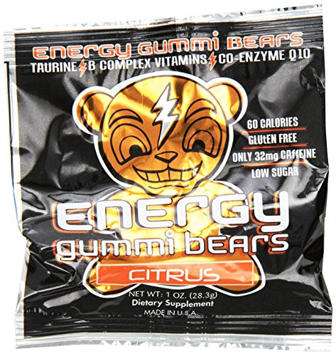 Energy Gummi Bears by Loud Truck Citrus Blast, 24 Count