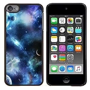 - planets fantasy sky science fiction cosmos - - Modelo de la piel protectora de la cubierta del caso FOR Apple iPod Touch 6 6th Generation RetroCandy