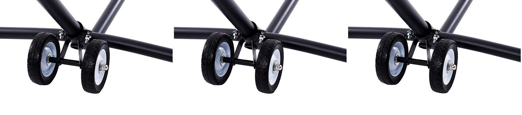 Vivere WHEEL Hammock Stand Wheel Kit (3 Kits)