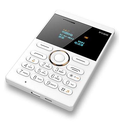 LouiseEvel215 E1 Mini Tarjeta Teléfono móvil Mini Teléfono ...