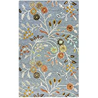 Rizzy Home Eden Harbor Collection EH070A Hand-Tufted Wool Blend Area Rug