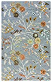 Rizzy Home Eden Harbor Collection EH070A Hand-Tufted Wool Blend Area Rug For Sale