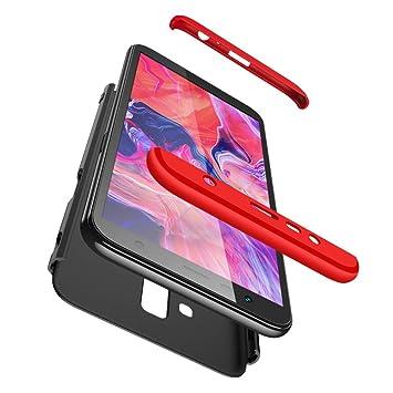 Funda Galaxy J6 Prime/J6 plus 2018,360 grados Protección Case + pantalla de