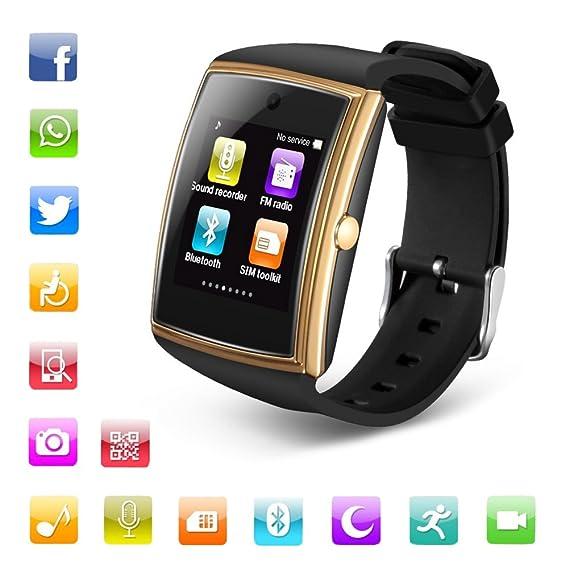 Amazon.com: Smart Watch IPS 3D HD Surface Screen Bluetooth ...
