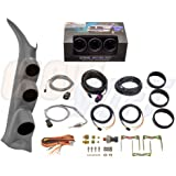 GlowShift Diesel Gauge Package for 2000-2006 Chevrolet Silverado Duramax & GMC Sierra - Tinted