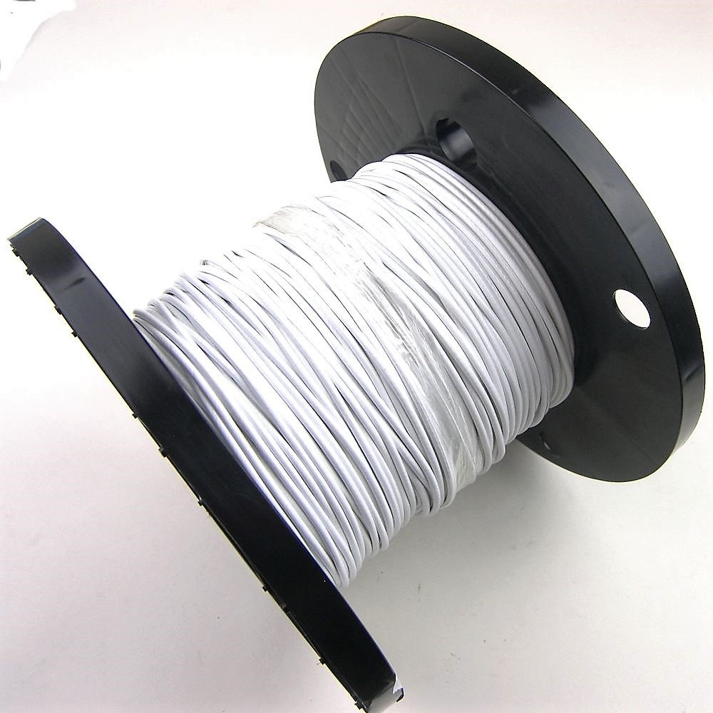 Amazon.com: 500ft Reel - White Coated Galvanized Cable/Wire Rope 7x7 ...