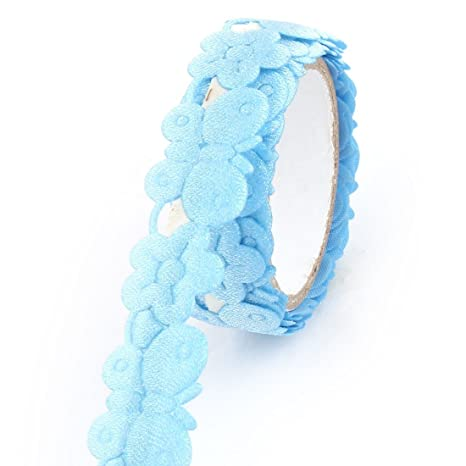 Amazon.com: Patrón eDealMax Tela de la Mariposa del hogar del arte DIY decoración adhesiva de Washi Rollo de Cinta Azul 3pcs: Health & Personal Care