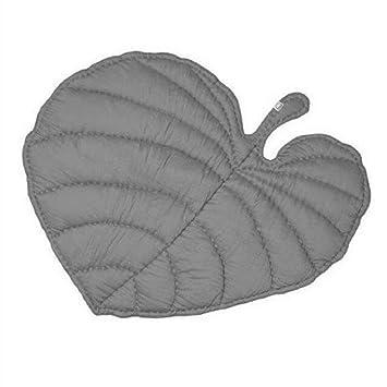 Kleitung Blattform Teppich Krabbeldecke Gepolstert Spielmatte Gro   Baumwolle Kinderteppich Babyzimmer Dekoration ?110cm? Gr