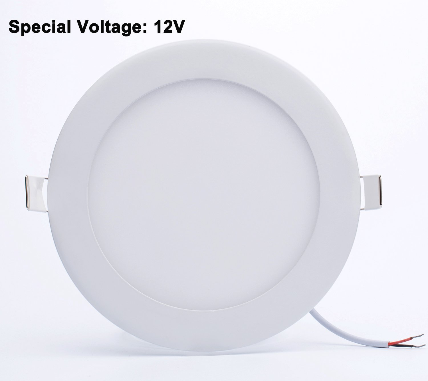 Do Led Ceiling Lights Need Transformers : W dc v round shape ultra thin led panel light pure