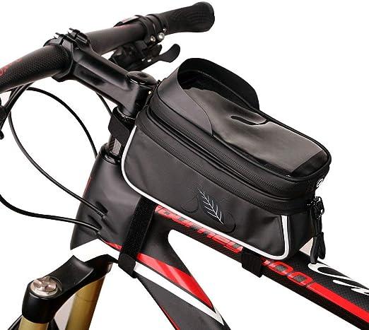 WHTBOX Bolsa Bicicleta Manillar,Impermeable Bolsa Móvil de Bici ...