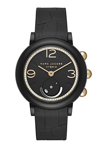 Marc Jacobs Riley MJT1014 - Reloj Inteligente, Color Negro y Dorado: Amazon.es: Relojes