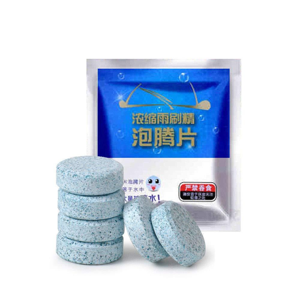Pastillas limpiadoras para limpiaparabrisas de Coche Sobotoo de Cristal, Limpiador de tabletas de Limpieza effervescente para detergente de Coche, ...