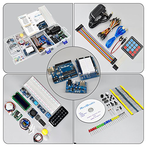 Rexqualis arduino uno project super starter kit for