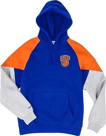online store 84d19 3e80b Amazon.com: Mitchell & Ness New York Knicks Royal Orange ...